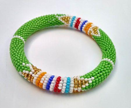 Green Zulu Bracelet