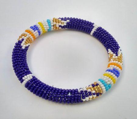 Navy Blue Zulu Bracelet