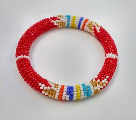Red Zulu Bracelet