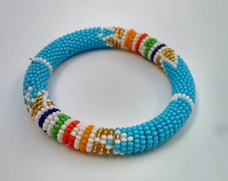 Sky Blue Zulu Bracelet