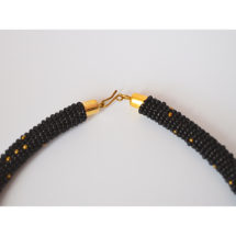 Black Necklace Closure