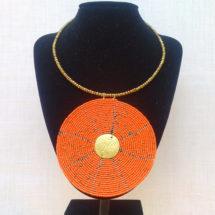 Orange Necklace