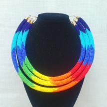 Rainbow Statement Necklace