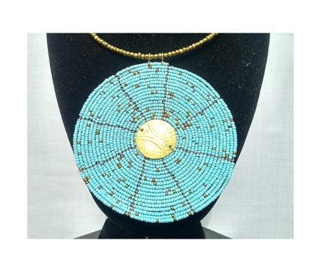 Sky Blue Necklace Pendant