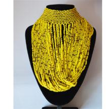 Yellow Choker Necklace